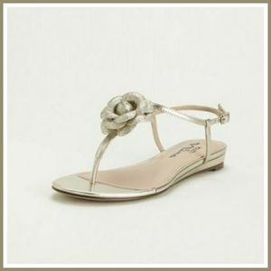 Touch of Nina Delores 3D Floral T-Strap Sandal
